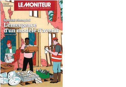 Couvertue du magazine Le Moniteur
